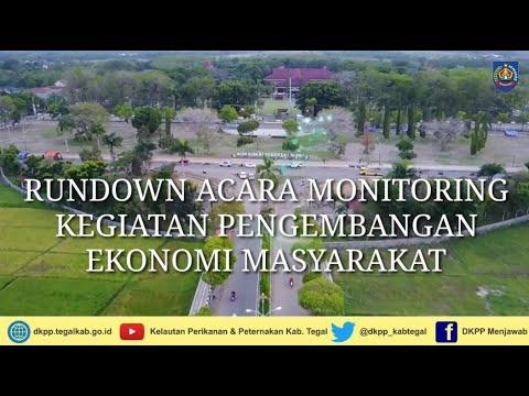 Rundown Monitoring Kegiatan Pengembangan Ekonomi Rakyat