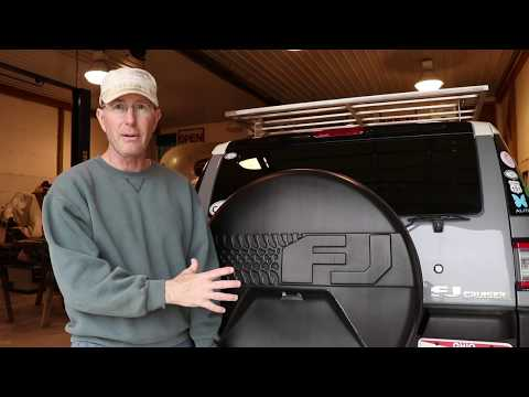 FJ Cruiser Spare Tire Fuel Storage