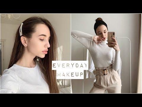 МОЙ ПОВСЕДНЕВНЫЙ МАКИЯЖ / весенний макияж 2019 ❤️