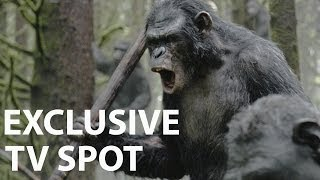 Repeat youtube video Dawn of the Planet of the Apes | Official TV Spot HD | In Cinemas July 17