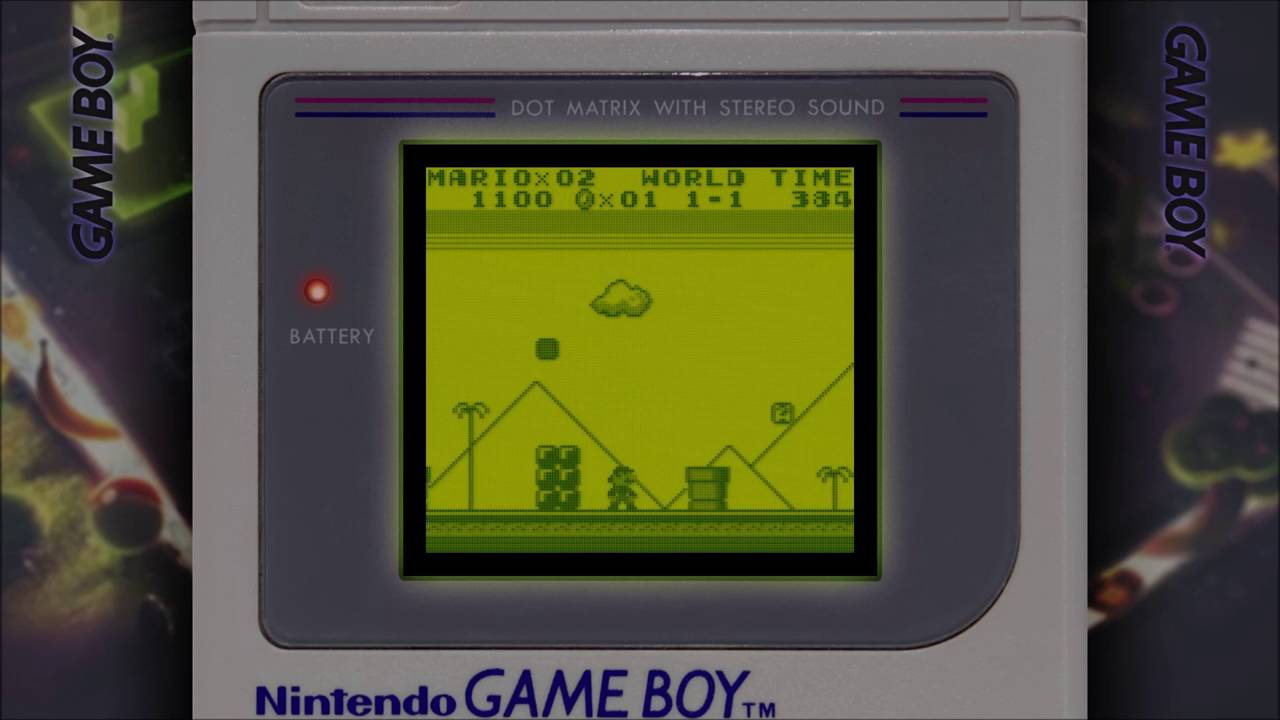 Retroarch - Gameboy with Overlay and Shader