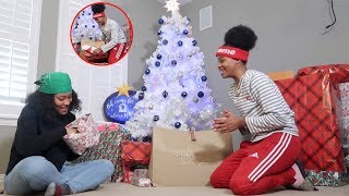 COUPLES EARLY CHRISTMAS GIFT EXCHANGE!!!!