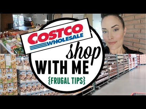 COSTCO SHOP WITH ME VLOG HAUL ● FRUGAL GROCERY SHOPPING TIPS ● HOW TO SHOP AT COSTCO ON A BUDGET