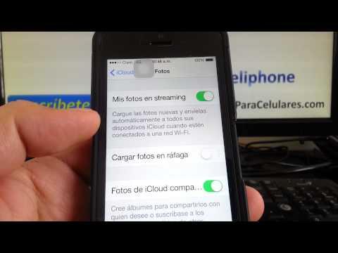 iOS 8 novedades Cómo activar desactivar subir fotos nube icloud en ios 8 iPhone 5S iOS 8 consejos