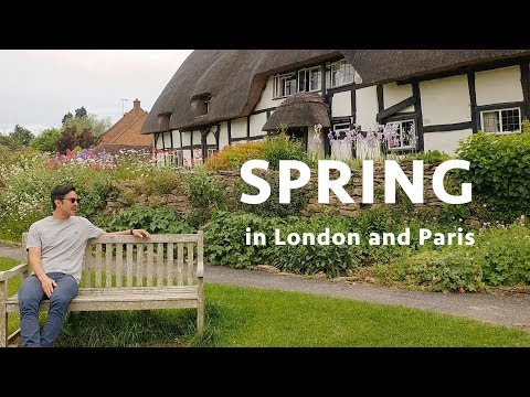 Spring in London and Paris!