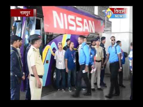 विंडीज व द  आफ्रिका संघ नागपुरात दाखल, २५ मार्चला गेल अन् डिव्हिलियर्स आमने सामने
