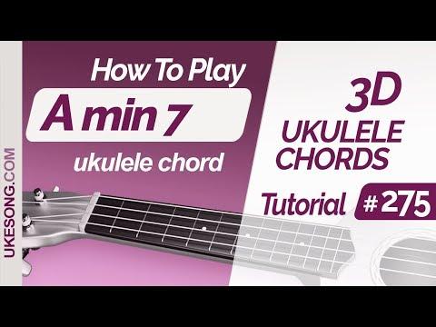 ukulele-chords---amin7-|-3d-ukulele-chords-tutorial-#275