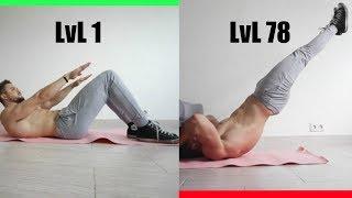 Пресс от LvL 1 до LvL 80 (КАКОЙ У ТЕБЯ?)