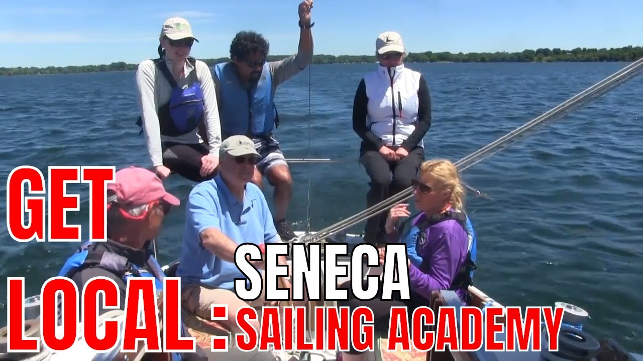 Learning to sail at Seneca Sailing Academy .::. Get Local with Sydney Rogers