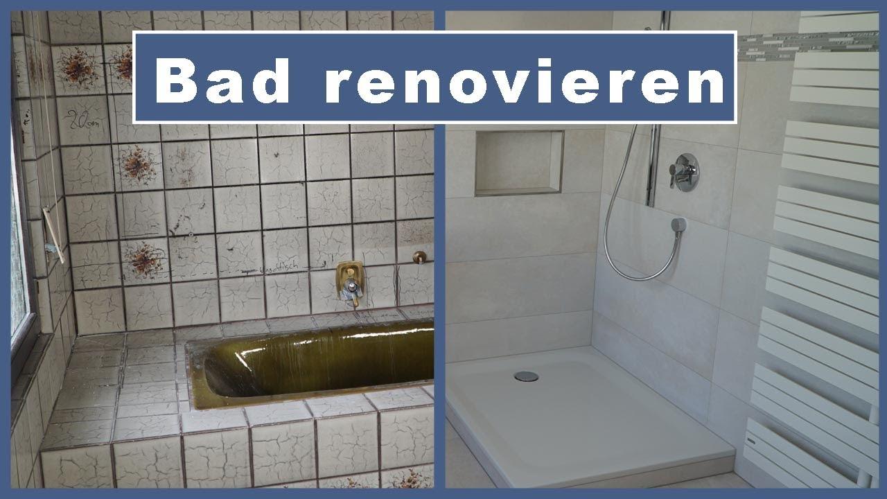 Badezimmer sanieren