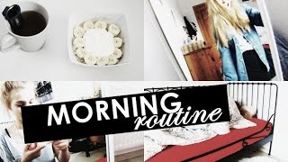 MOJA PORANNA RUTYNA // MY MORNING ROUTINE (FOR SCHOOL)