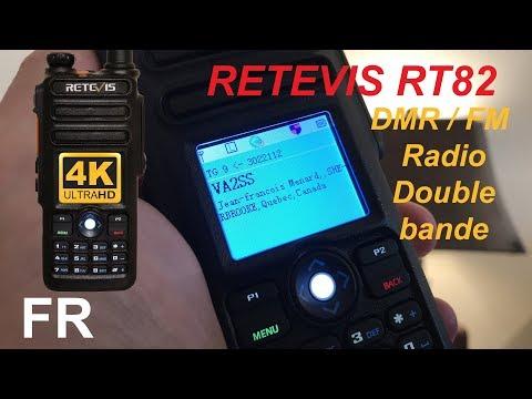 Évaluation du radio Retevis RT82 double bande DMR / Analogue (FM)