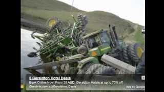 tractors in trouble