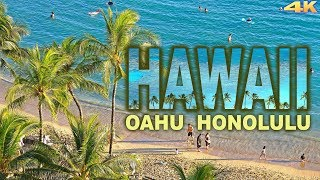 HAWAII, OAHU - HONOLULU 4K