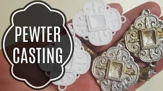Experiment: Silicone Molds and Casting Pewter!