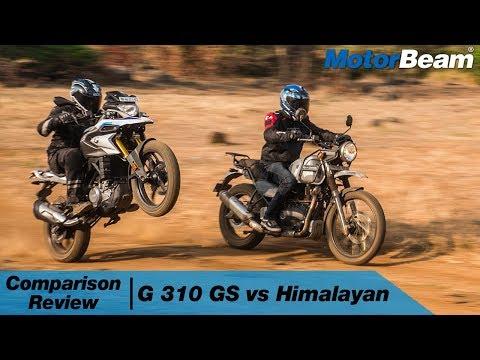 BMW G 310 GS vs Royal Enfield Himalayan - Adventure Thrill | MotorBeam