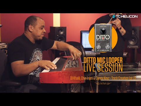 Dr. Dre, Eminem & Jay Z producers - LIVE track creation with Ditto Mic Looper