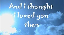 Brad Paisley Then Lyrics