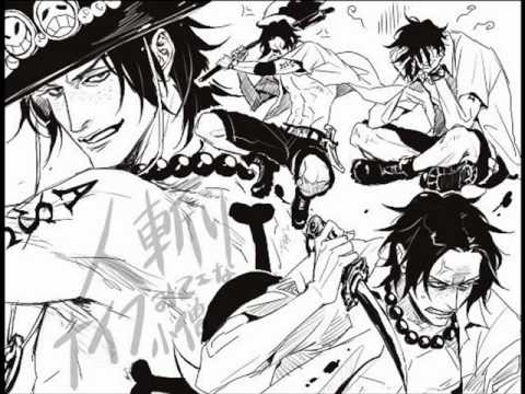 One Piece Lineart : Amv one piece portgas d ace the only youtube
