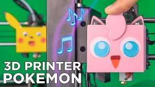 pokémon battle music but it's played with two 3d printers ♪ ♫