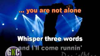 Michael Jackson you are not alone bachata version  karaoke instrumental