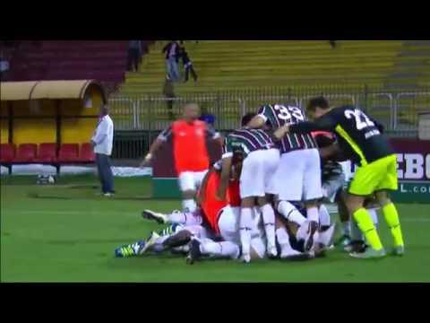 Fluminense 2 x 2 Santa Cruz   Campeonato Brasileiro 21 05 2016