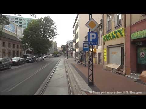 Tramwaje Śląskie Linia 24 Sosnowiec Konstantynów Okrzei - Będzin Os.Zamkowe Pętla