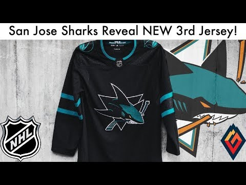 new concept 14d09 c3177 San Jose Sharks Reveal NEW 3rd Jersey! - NHL Jersey Review ...