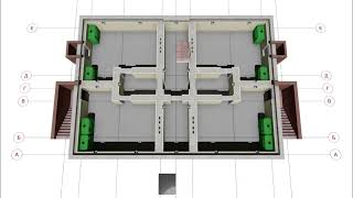 Проект сейсмостойкого трехэтажного одноподъездного дома на 12 квартир