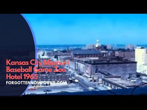 Found Footage: 1965 Home Movie Kansas City Baseball Game Zoo Hotel