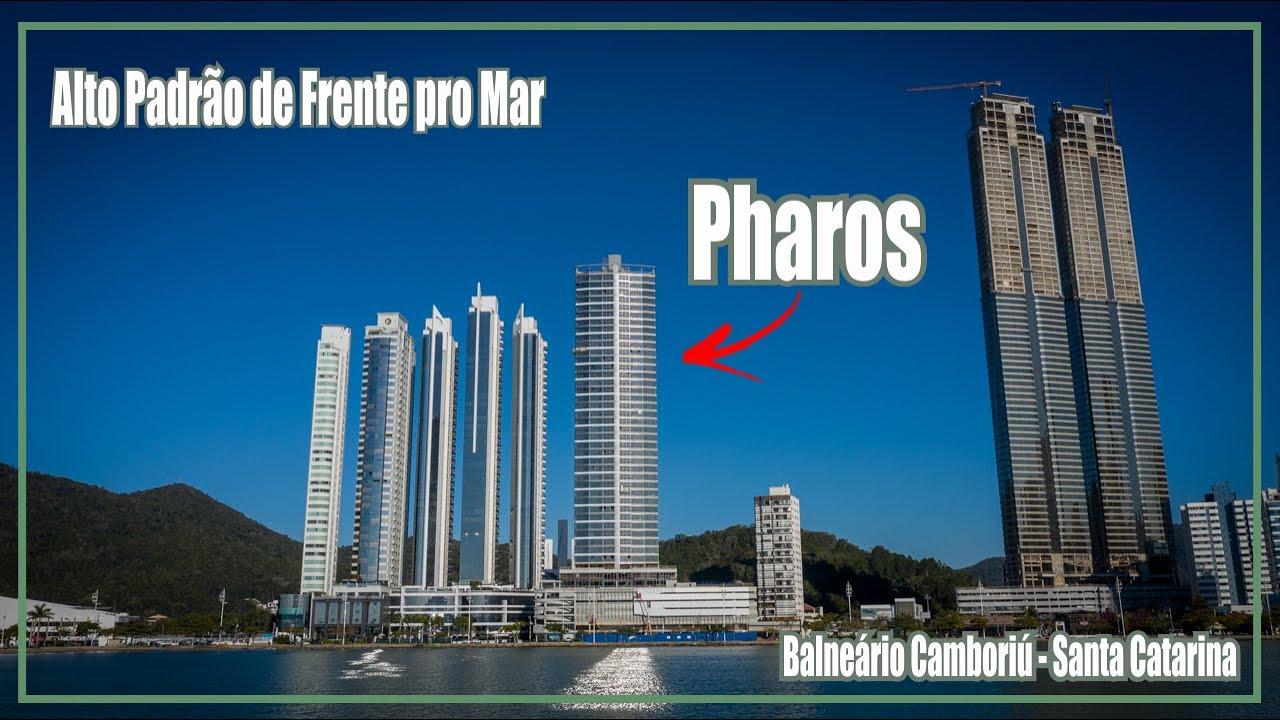 Altíssimo Padrão de Frente pro Mar em Balneário Camboriú - Pharos - Andamento das Obras