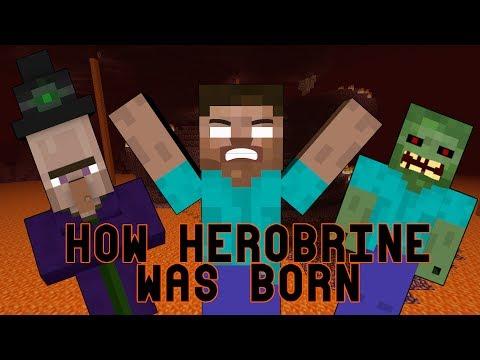 [Minecraft] How Herobrine Was Born. How To Create Herobrine. The Beginning Of Herobrine.