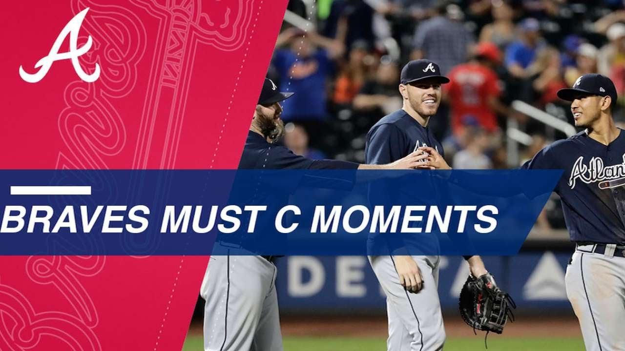 new concept ab48d a6441 Must C  Top moments from the Braves  2017 season. MLB