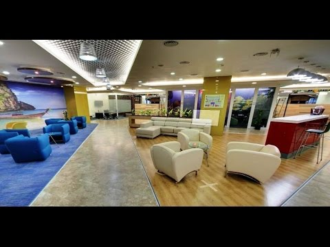 This is how Google's Hyderabad Office looks like