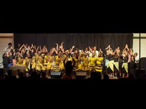 O'MyTheater sings with The African Children's Choir