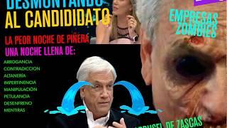 La peor noche de Piñera, zasca tras zasca, ración recargada, tolerancia cero