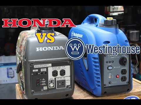 Honda EU2000i Vs Westinghouse iGen2000 Inverter Generator Comparison, Half  Price Honda Option?