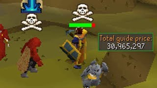 Found him Runecrafting with Bank Loot