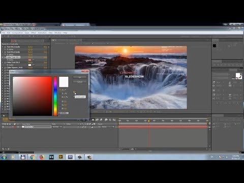Customization Video Tutorial - Cinematic Parallax Photo Slideshow (After Effects)