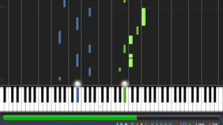 Fireflies Owl City Piano Synthesia  + MIDI