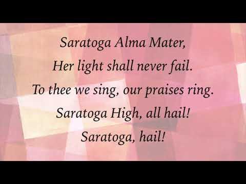Saratoga High School Alma Mater