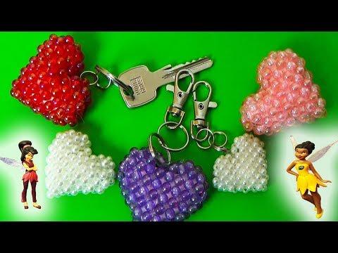 DIY | Herz aus Perlen zum Valentinstag selbst basteln