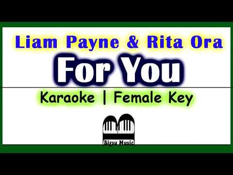 Liam Payne, Rita Ora - For You (Karaoke + Lyrics Video)