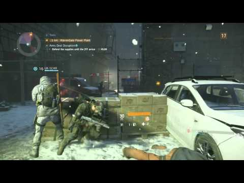 THE DIVISION ARMS DEAL DISRUPTION PS4