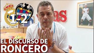 Real Madrid 1-2 Levante |El discurso de Roncero | Diario AS