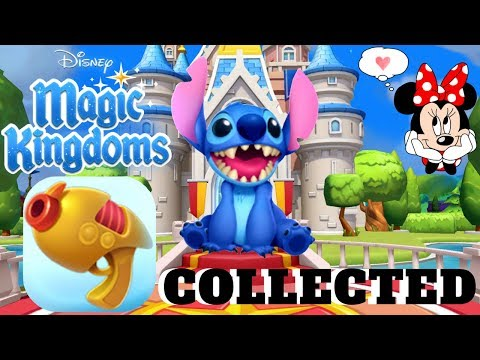 New Surprise Character & All Stitch Blasters In Disney Magic Kingdoms   Gameplay Walkthrough Ep.188