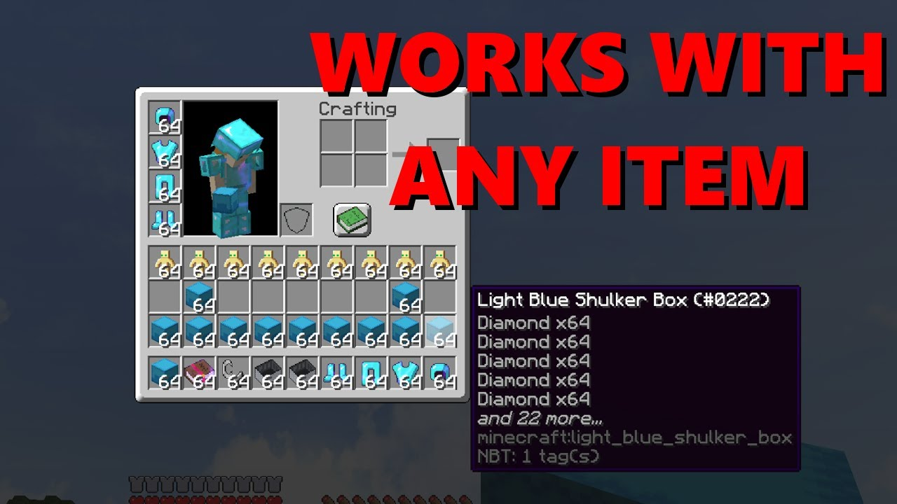 Tutorial: ULTIMATE Minecraft Duplication Glitch for 1 12!