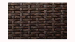 Strathwood Griffen All-weather Wicker Coffee Table Dark Brown