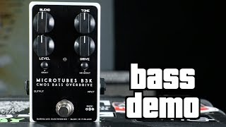 Darkglass Microtubes B3K V2 Bass Demo