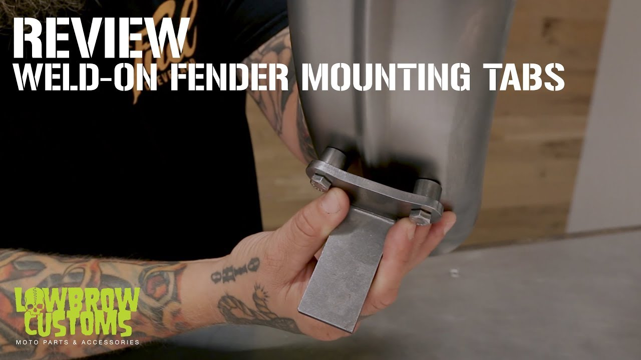 Weld On Fender Mounting Tabs For Custom Motorcycle Chopper Virago 250 Fuel Filter Bobber Review